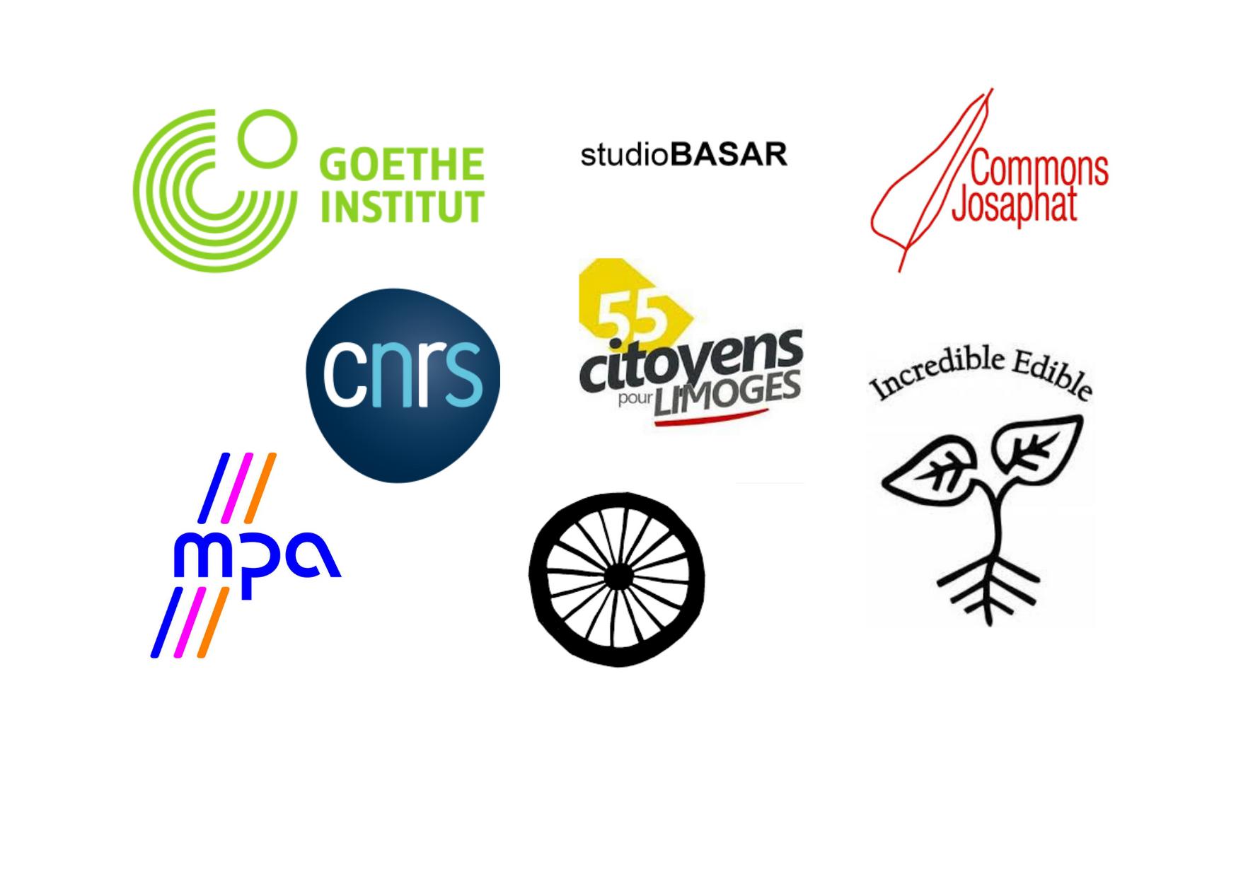 Logos partenaires hors région